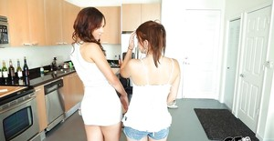 Lesbian in Kitchen Sex Galleries